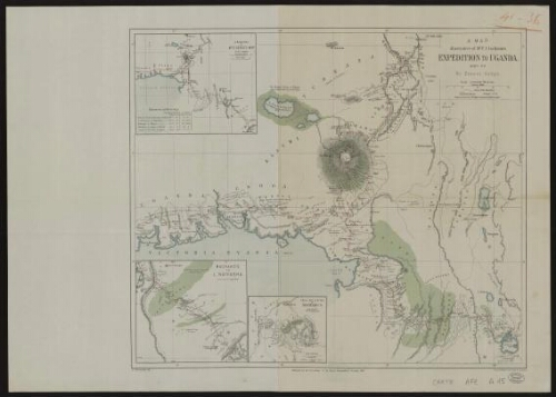 A map illustrative of Mr F. J. Jackson's expedition to Uganda, 1889-90