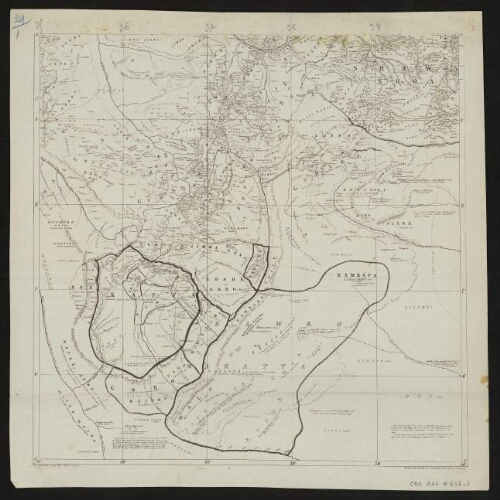 [Reproduction de] [A map of Eastern Equatorial Africa] , [East 3]