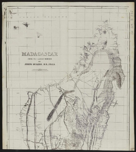 Madagascar from the latest surveys : [moitié nord]